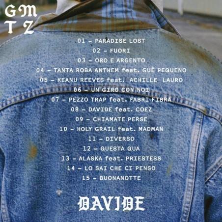 "Gemitaiz - ""DAVIDE"" (Vinile 33' giri)"