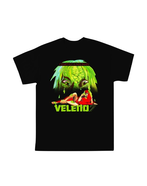 Gemitaiz & Madman - Veleno VII (LIMITED EDITION) - Black Tee
