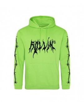"""Gemitaiz - """"ROLLIN"""" Black Hoodie"""
