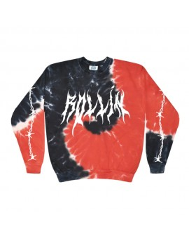 "Gemitaiz - ""ROLLIN"" Sweater (TIE-DYE Limited)"